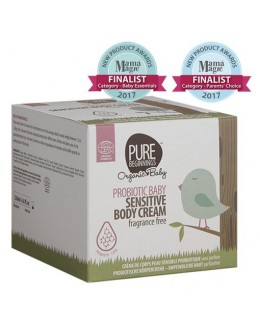 Pure beginnings PROBIOTIC BABY Sensitive Body Cream, 250 ml