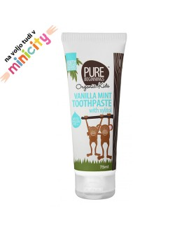 Pure beginnings natural toothpaste vanilla mint