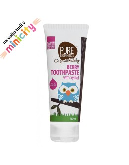 Pure beginnings natural toothpaste berry