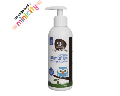 Pure beginnings baby lotion