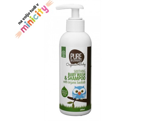 Pure beginnings baby wash & shampoo